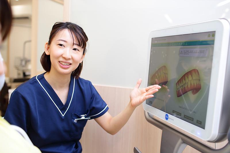 しい女性歯科医師が在籍しています